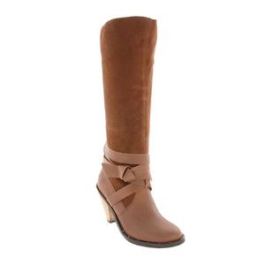 Report BP • Flora Genuine Leather Knee Boots 8